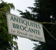 Le Breuil en auge antique