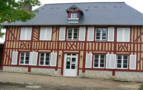 Le Breuil en Auge house Normandy