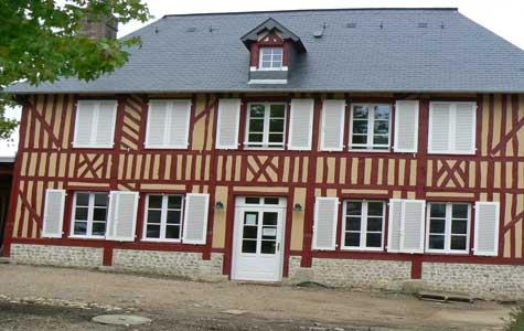 Le Breuil en Auge house Normandy