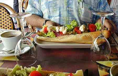 Le Touquet sandwich
