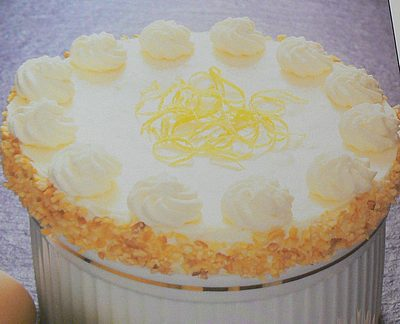 Lemon souffle picture