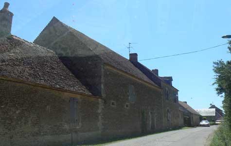 Lieury street Calvados Normandy