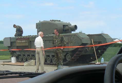 Lion sur Mer tank  Calvados  Normandy