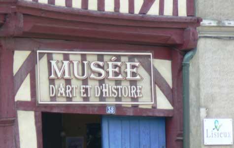 Lisieux museum  Calvados  Normandy