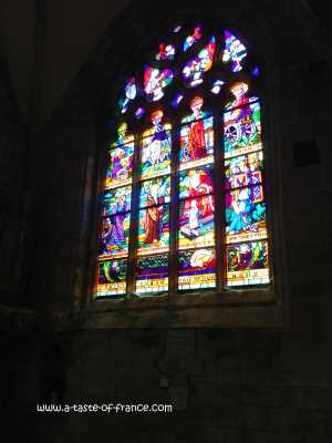 Locronan church picture
