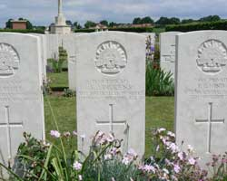 Longueval road cemetery