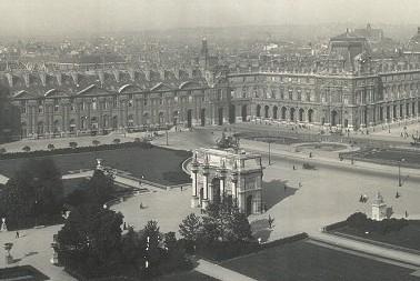 Louvre  Museum 1909