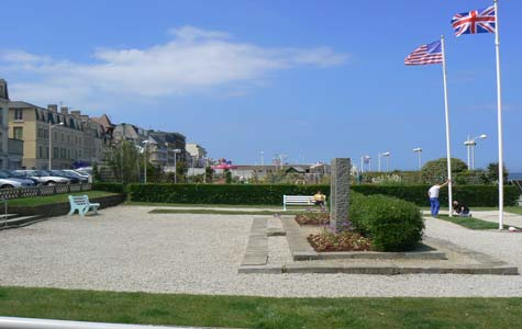 Luc sur Mer sea front Calvados Normandy