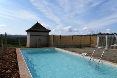 Private pool Villa Rosa