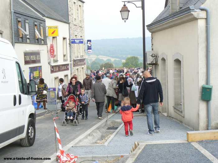 Martinvast  village in Normandy