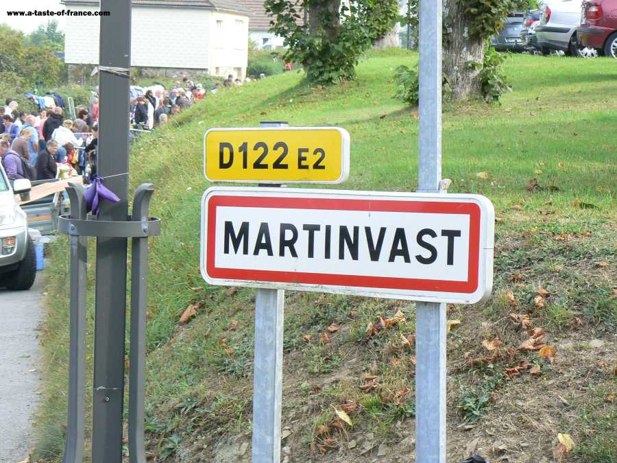 The village of Martinvast