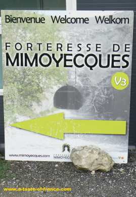 Mimoyecques sign picture