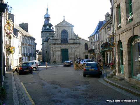 Moncontour church Brittany