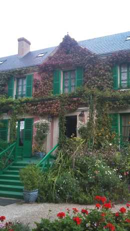 Monet`s house picture