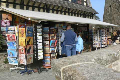Le Mont Saint Michel shop Manche Normandy