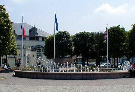 Montreuil-sur-mer fountain