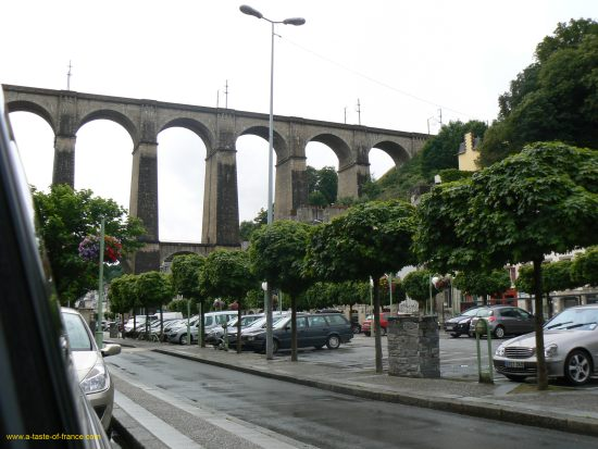 Morlaix viaduct Brittany
