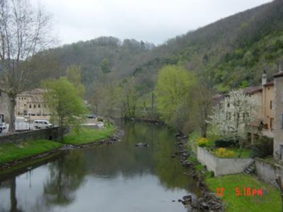 River near  Castres