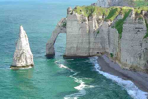Normandy coast picture