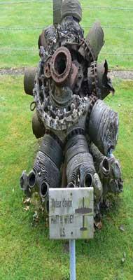 old bomber engine France