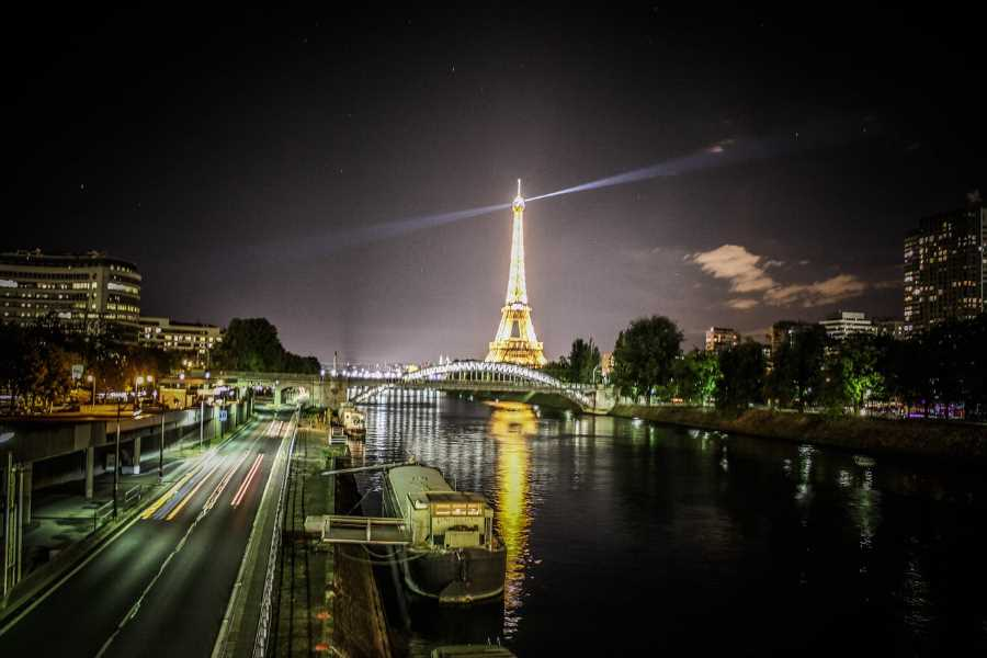 Paris at night France