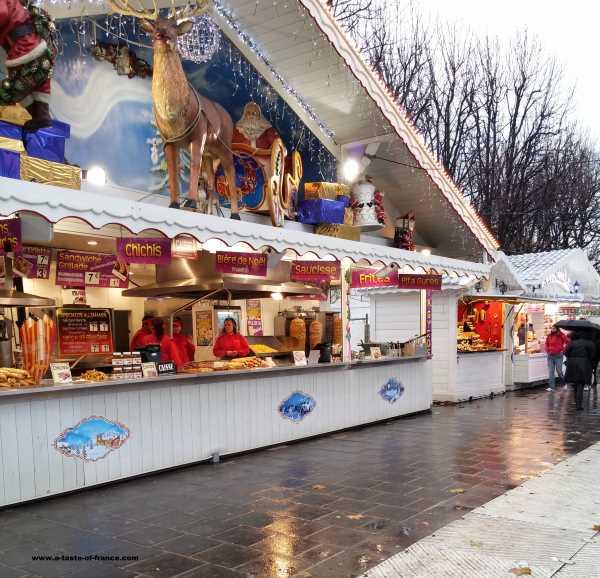 Paris Christmas market France picture