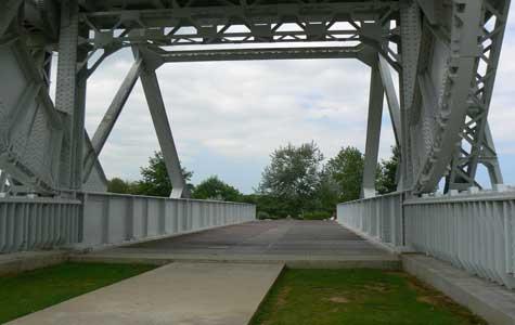 pegausu bridge Calvados  Normandy