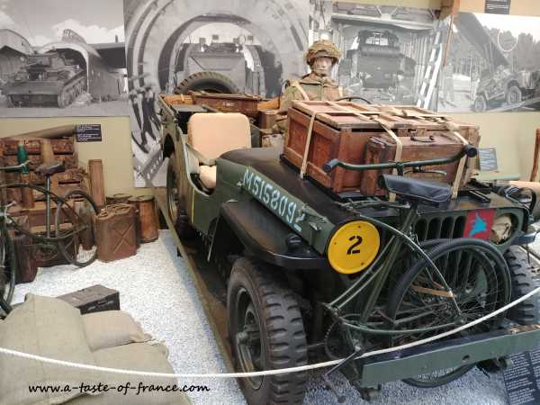 Pegasus bridge museum Calvados  Normandy