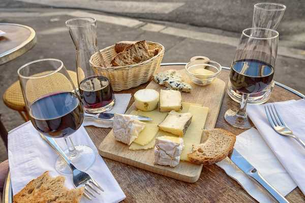 The perfect French lunch France picture