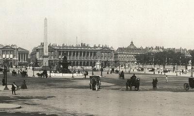 Place de la Concorde 1909