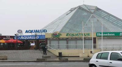 The Aqualud centre  Le Touquet