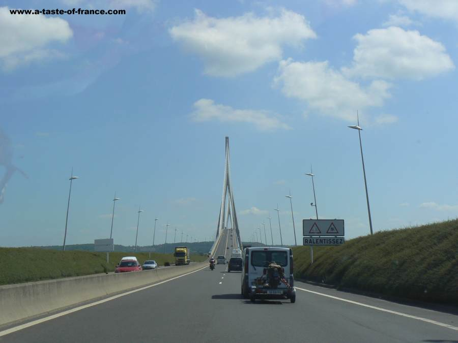 Pont Normandie bridge France