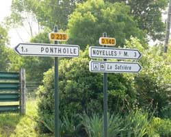 Ponthoile sign picture