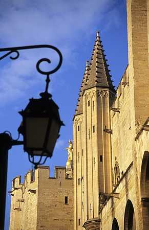 Avignon palace picture