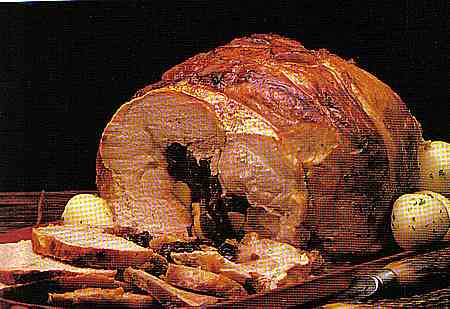 pork stuffed with prunes
