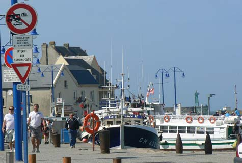 Port en bessin huppain France Calvados Normandy