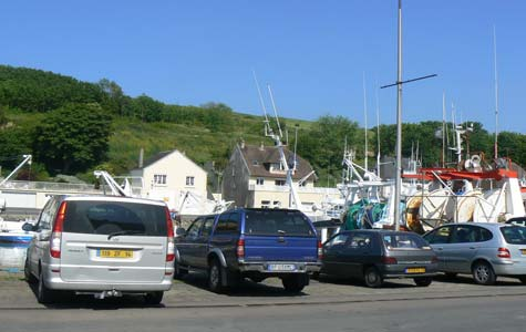 Port en Bessin huppain Calvados  Normandy