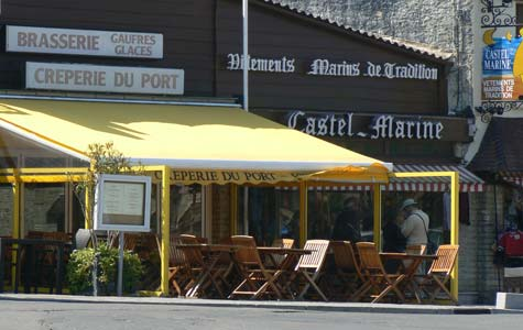 port en Bessin-Huppain shop Calvados Normandy