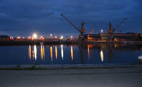 Port of St Malo picture