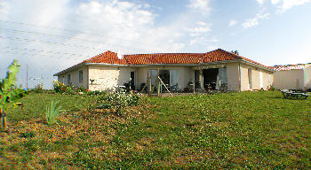 Panorama rear house