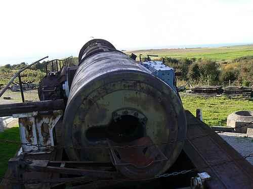 railway gun France picture 2