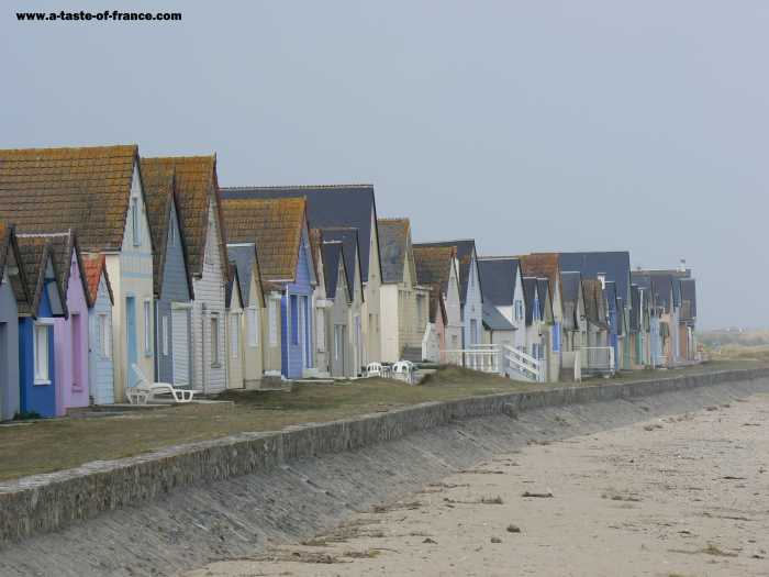 Ravenoville Plage  village in Normandy