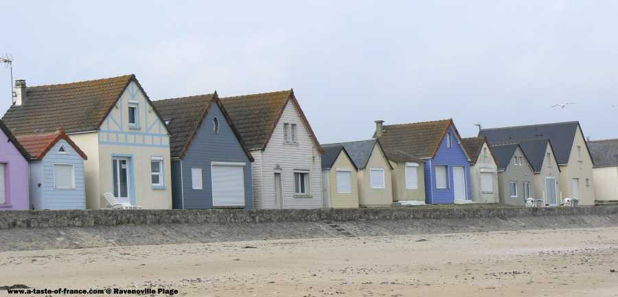 The village of Ravenoville Plage