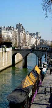 river Seine boat
