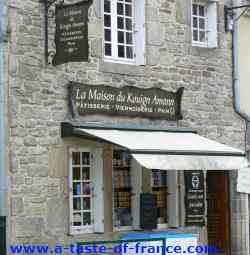 A cake shop in Roscoff picture