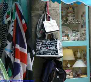 Roscoff gift shop picture