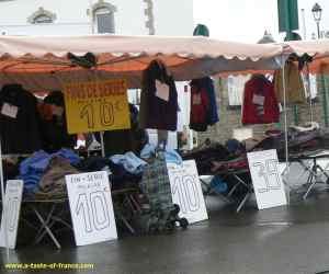 Roscoff market stall