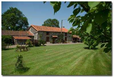 Traditional Limousin farmhouse