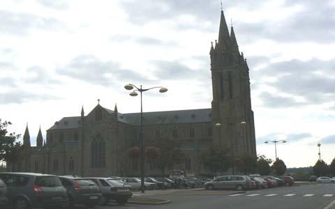 Saint Hilaire du Harcouet church Manche Normandy