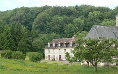 Saint Hymer chateau Calvados  Normandy
